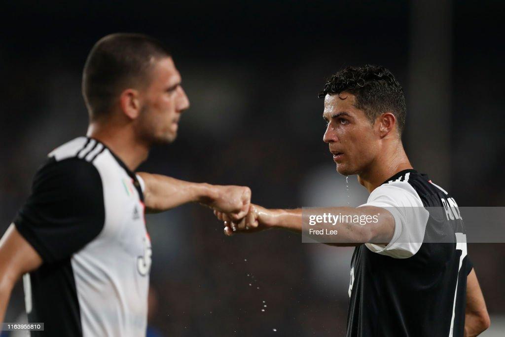 Juventus v FC Internazionale - 2019 International Champions Cup : Nachrichtenfoto
