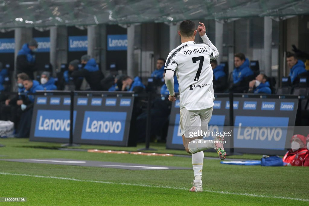 FC Internazionale v Juventus - Coppa Italia : News Photo