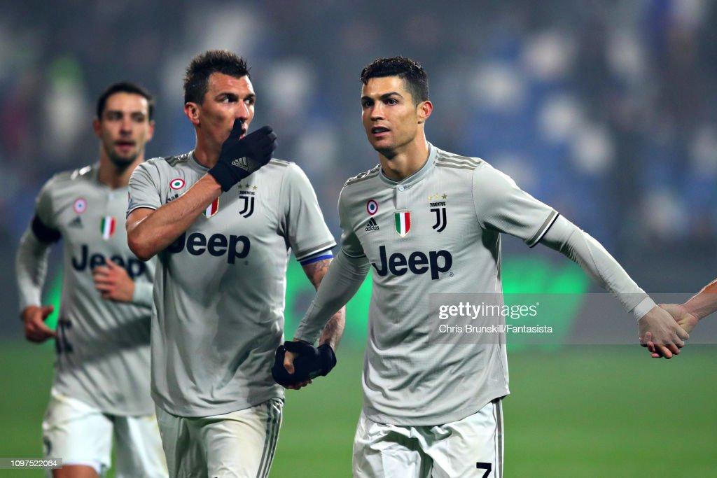 US Sassuolo v Juventus - Serie A : News Photo