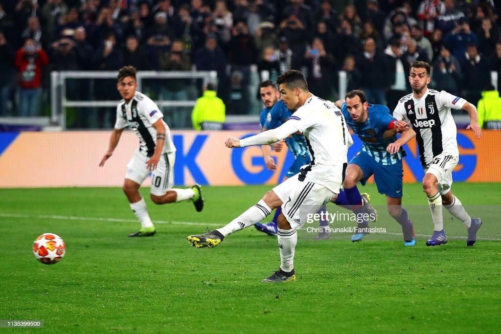 Juventus v Club de Atletico Madrid - UEFA Champions League Round of 16: Second Leg : ニュース写真