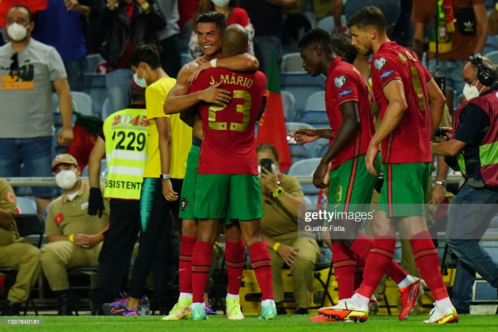 Portugal v Republic of Ireland - World Cup 2022 Qualifier : News Photo