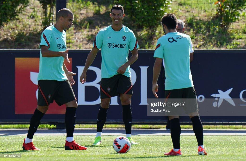 Portugal National Team Training Session : News Photo