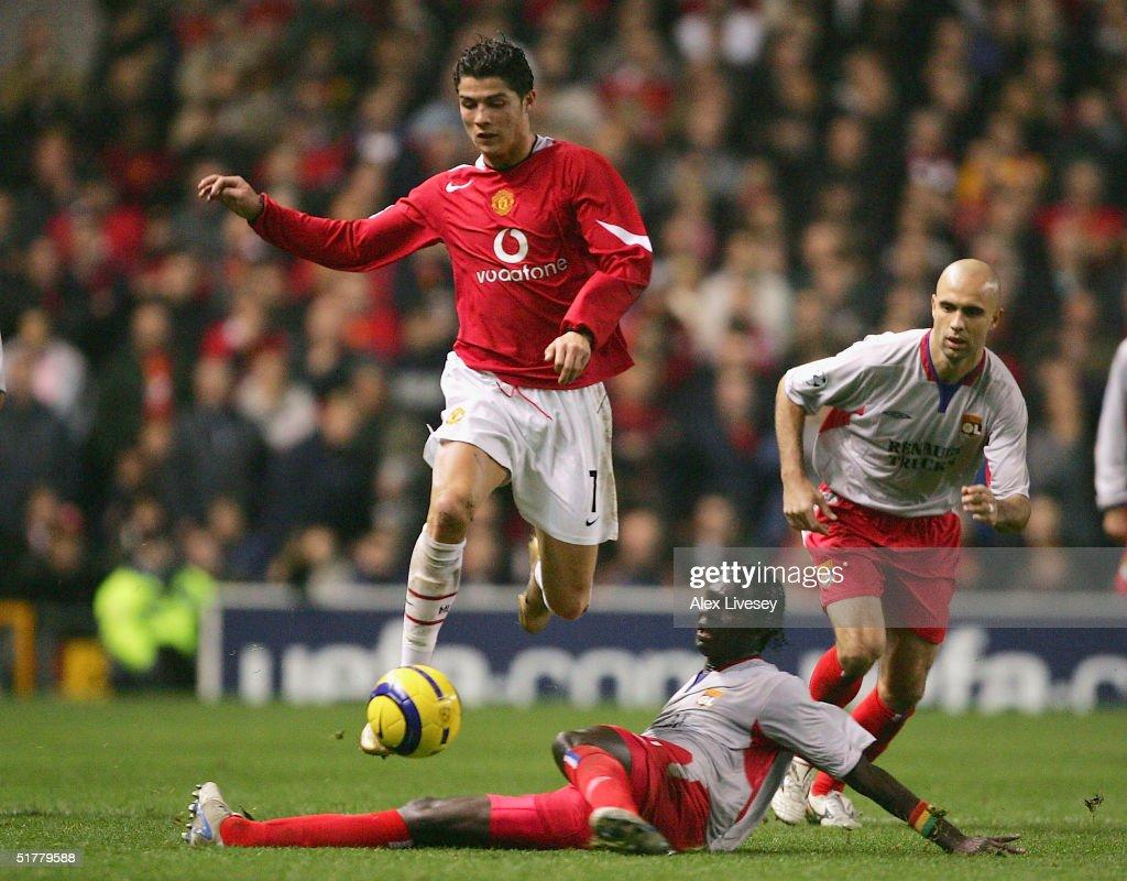 Manchester United v Olympique Lyon : News Photo