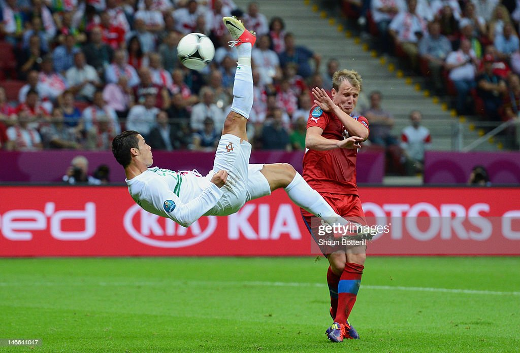 Czech Republic v Portugal - Quarter Final: UEFA EURO 2012 : Nachrichtenfoto