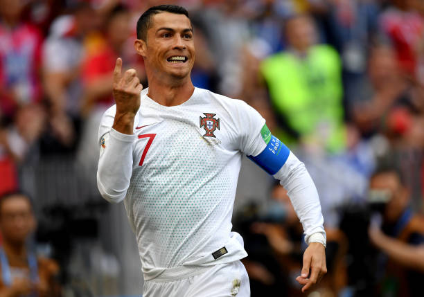 World Cup: Cristiano Ronaldo breaks European record with ...