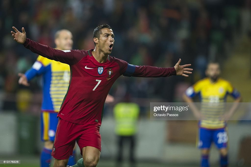 Cristiano Ronaldo of Portugal celebrates after scoring the second a ... 7c00ac1b7