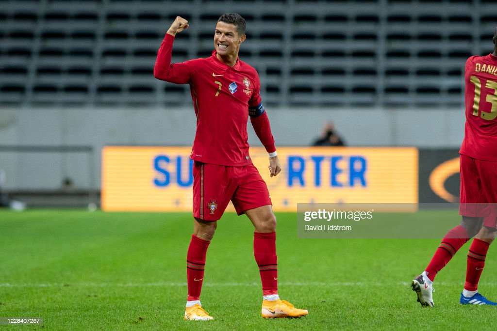 Sweden v Portugal - UEFA Nations League : Photo d'actualité