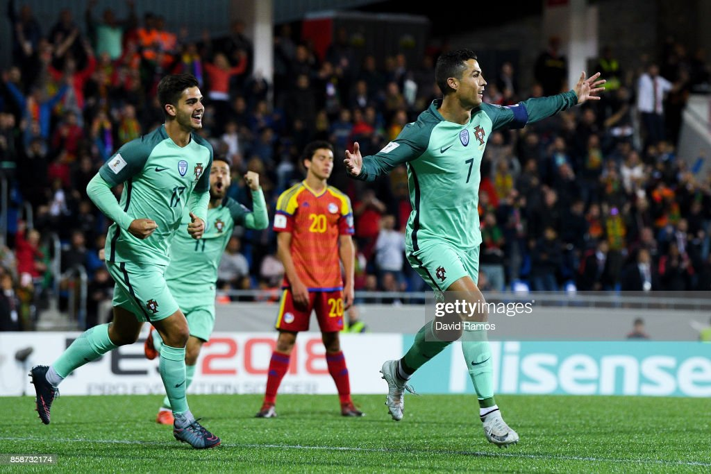 Andorra v Portugal - FIFA 2018 World Cup Qualifier : News Photo