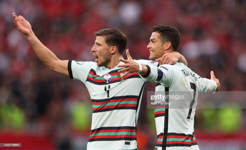 Hungary v Portugal - UEFA Euro 2020: Group F : Fotografía de noticias