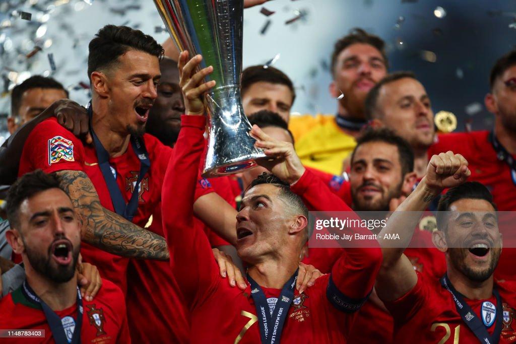 Portugal v Netherlands - UEFA Nations League Final : Photo d'actualité