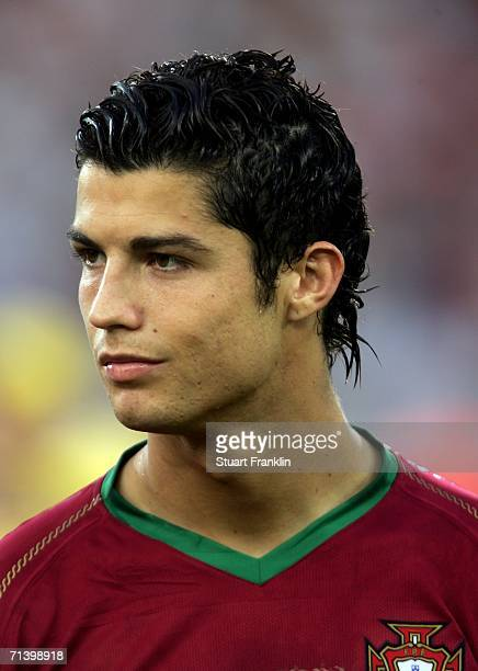 Cristiano Ronaldo of Portugal during the FIFA World Cup Germany 2006 Third Place Playoff match between Germany and Portugal played at the...