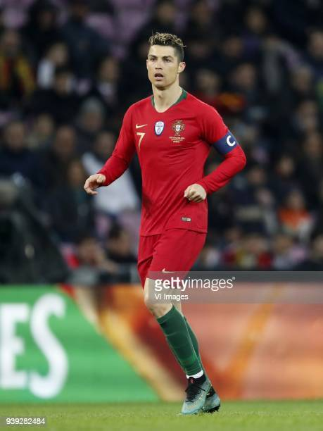 Cristiano Ronaldo of Portugal during the International friendly match match between Portugal and The Netherlands at Stade de Genève on March 26 2018...