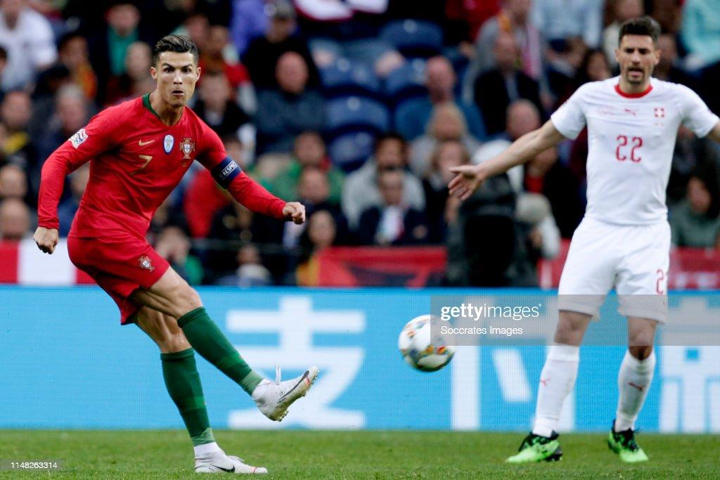 Portugal  v Switzerland  -UEFA Nations league : News Photo