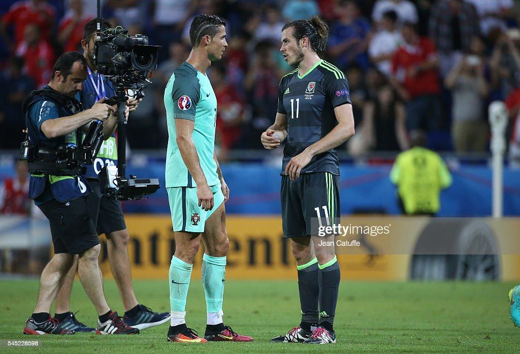 Wales v Portugal - Semi Final: UEFA Euro 2016 : News Photo