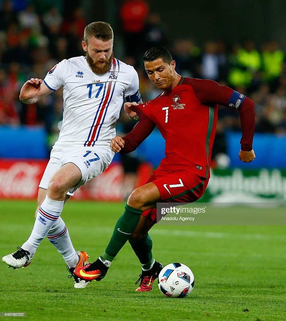 Portugal vs Iceland - EURO 2016 : News Photo