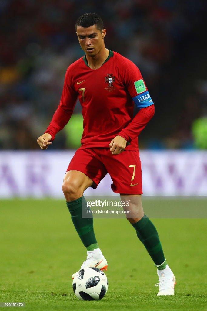 Portugal v Spain: Group B - 2018 FIFA World Cup Russia : Nachrichtenfoto
