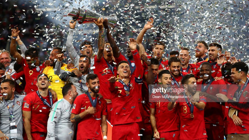 Portugal v Netherlands - UEFA Nations League Final : Foto di attualità