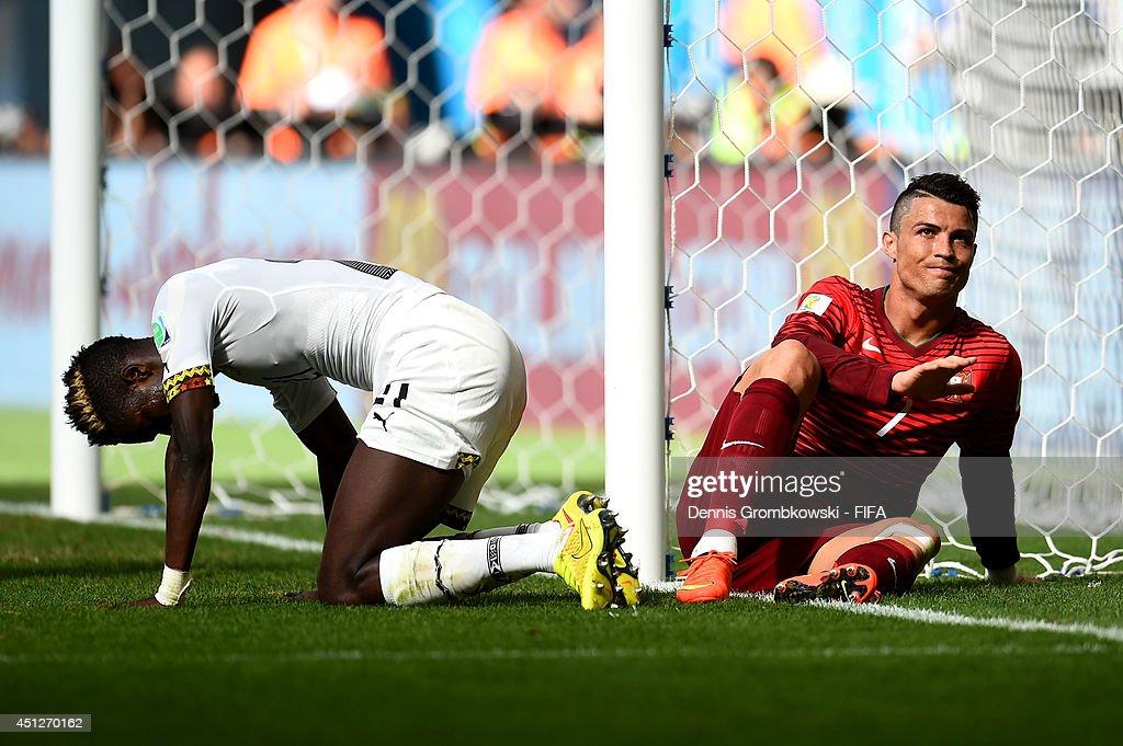 Portugal v Ghana: Group G - 2014 FIFA World Cup Brazil : ニュース写真