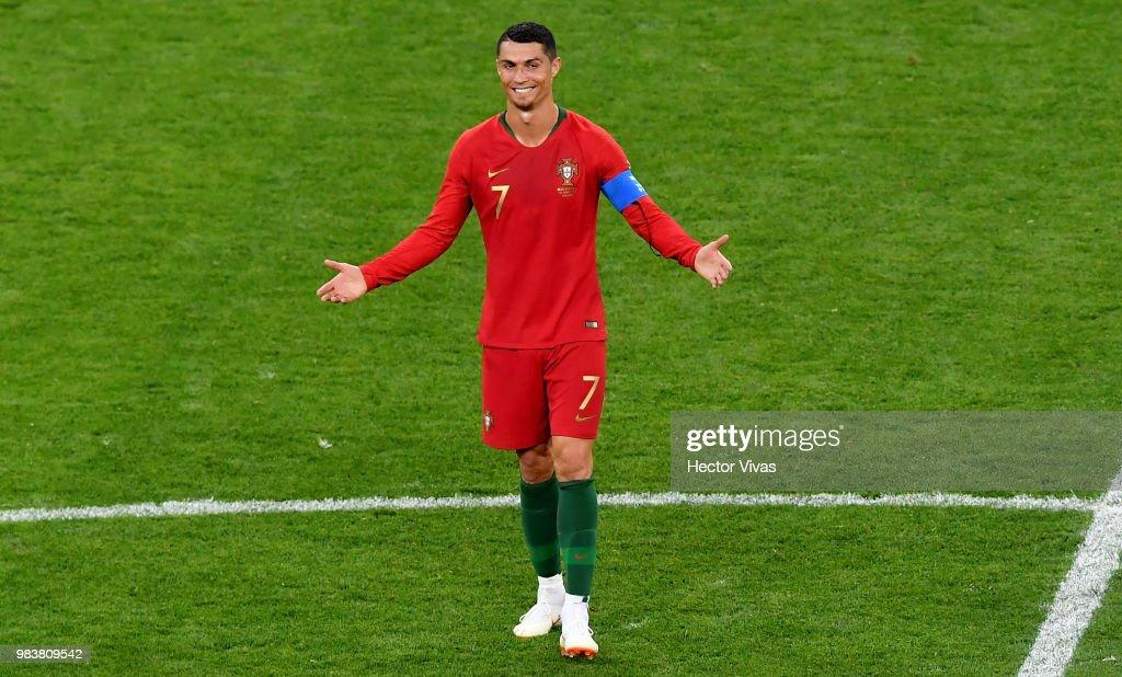 Iran v Portugal: Group B - 2018 FIFA World Cup Russia : Foto jornalística