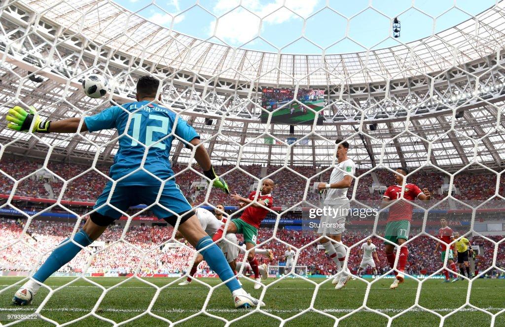 Portugal v Morocco: Group B - 2018 FIFA World Cup Russia : News Photo