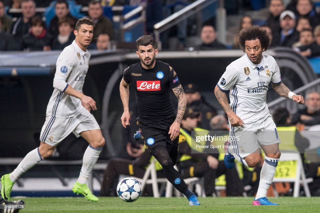 cf2f91a26634 Real Madrid CF v SSC Napoli - UEFA Champions League Round of 16: First Leg