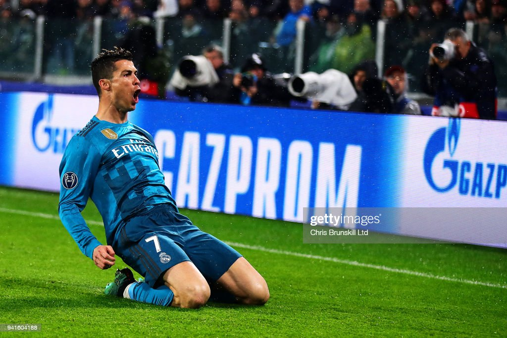 Juventus v Real Madrid - UEFA Champions League Quarter Final 1st Leg : News Photo
