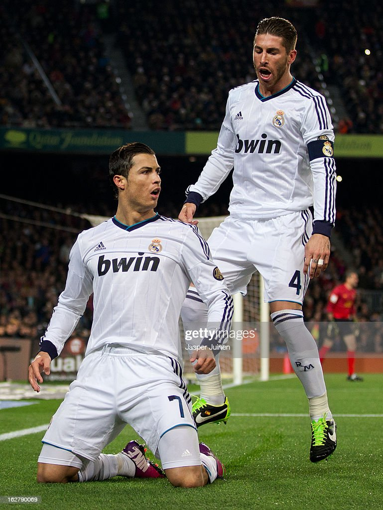 FC Barcelona v Real Madrid CF - Copa Del Rey - Semi Final Second Leg : News Photo