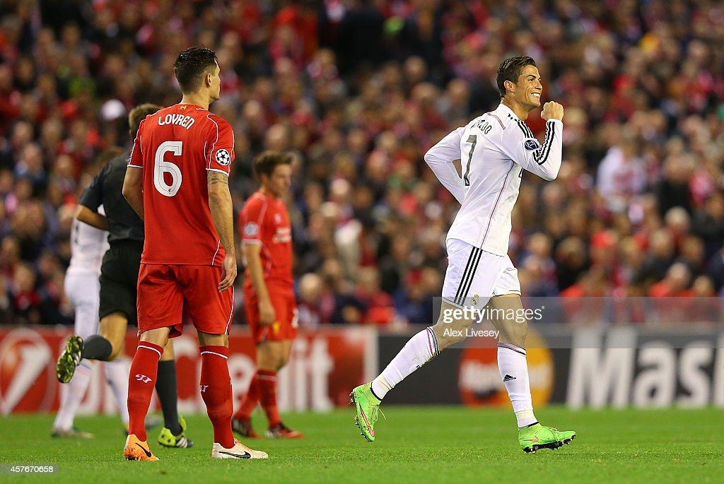 Liverpool FC v Real Madrid CF - UEFA Champions League : News Photo