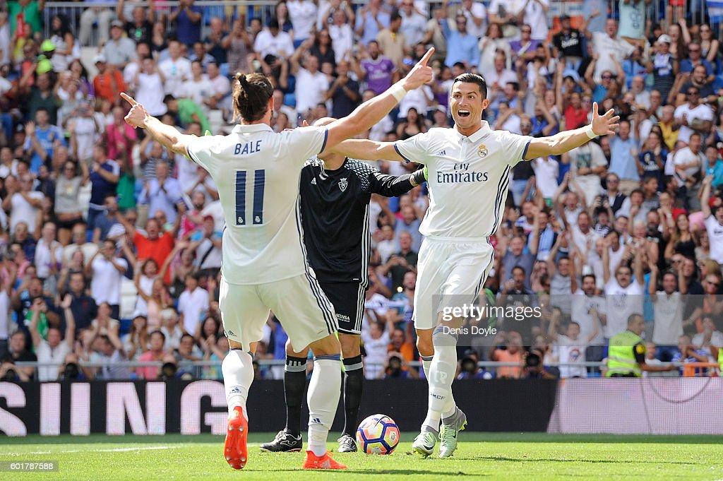 Real Madrid CF v CA Osasuna - La Liga : News Photo