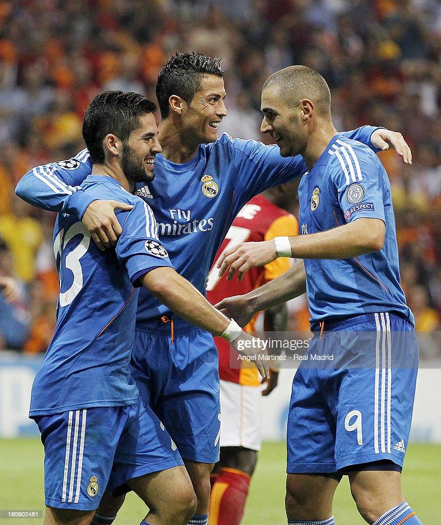 Galatasaray AS v Real Madrid CF - UEFA Champions League : News Photo