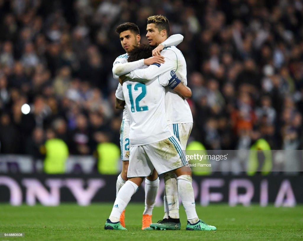 Real Madrid v Juventus - UEFA Champions League Quarter Final Second Leg : Nachrichtenfoto