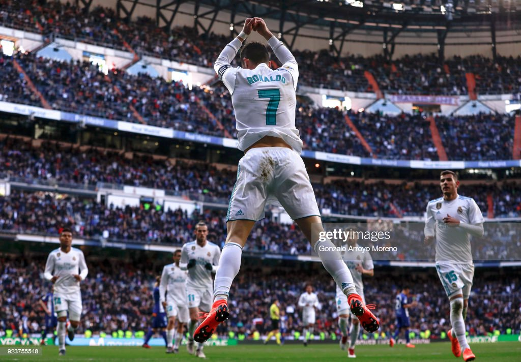 Real Madrid v Deportivo Alaves - La Liga : News Photo