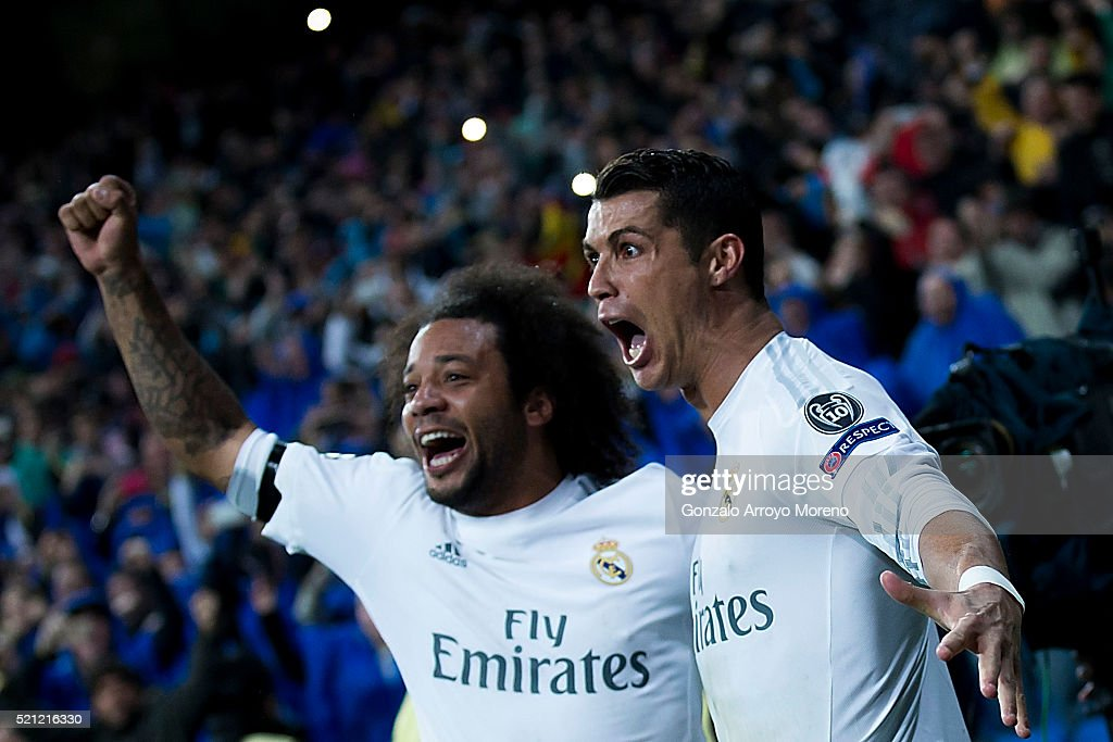 Real Madrid CF v VfL Wolfsburg - UEFA Champions League Quarter Final: Second Leg : News Photo