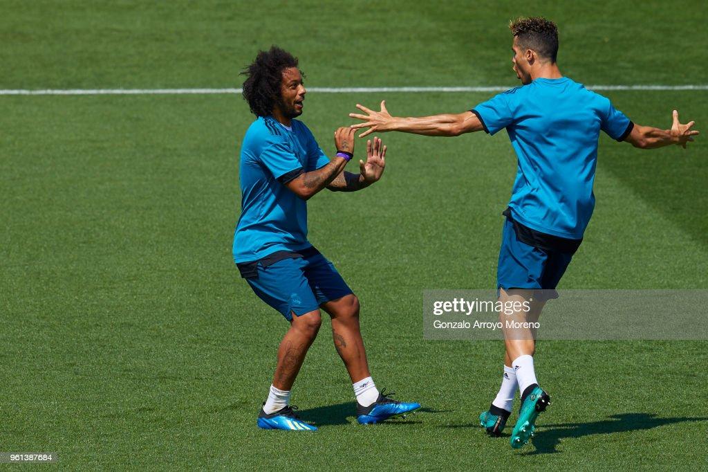 Real Madrid UEFA Open Media Day : News Photo