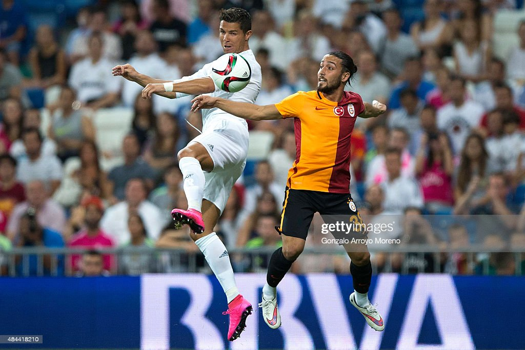 Real Madrid v Galatasaray: Santiago Bernabeu Trophy : News Photo