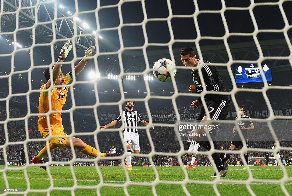Juventus v Real Madrid CF  - UEFA Champions League Semi Final : News Photo