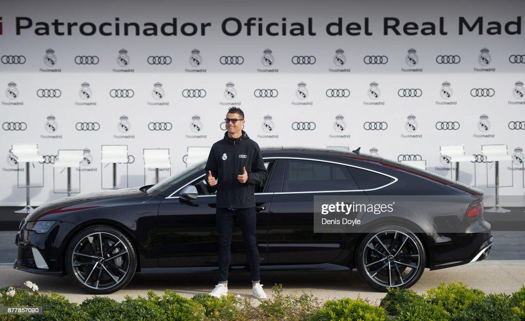 Real Madrid Audi Car Handover : News Photo