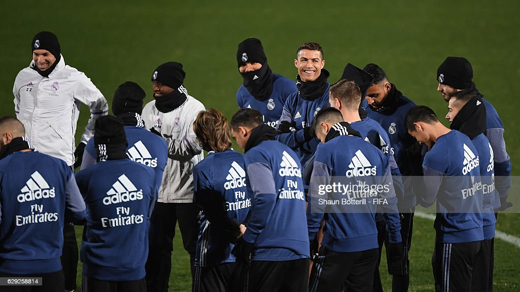 FIFA Club World Cup - Real Madrid Training : Foto jornalística