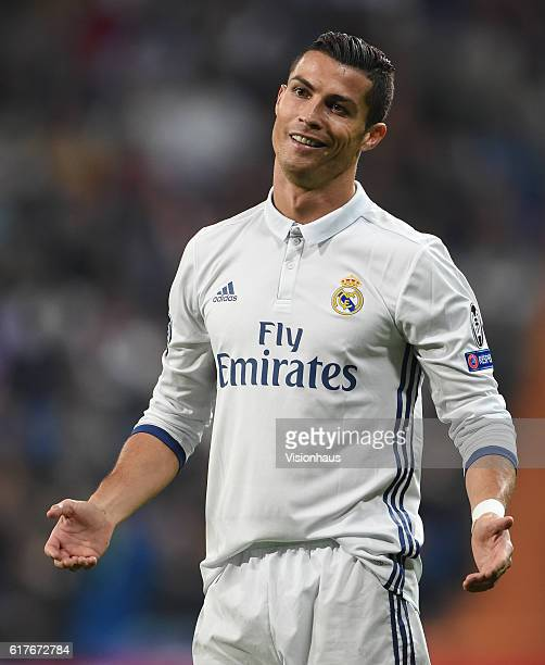 Cristiano Ronaldo of Real Madrid during the UEFA Champions League Group F match between Real Madrid CF and Legia Warszawa at Bernabeu on October 18...