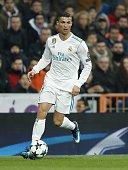 cristiano ronaldo real madrid during uefa