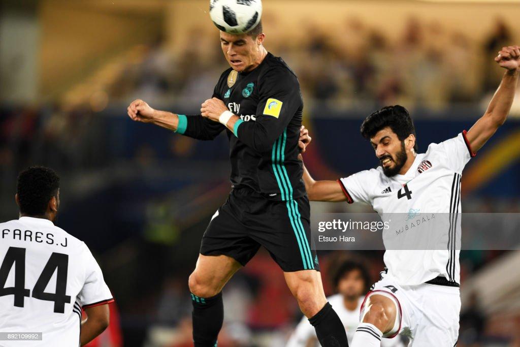Al Jazira v Real Madrid CF - FIFA Club World Cup UAE 2017 : News Photo