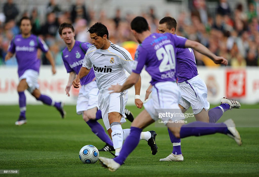 Shamrock Rovers v Real Madrid - Pre Season Friendly : News Photo