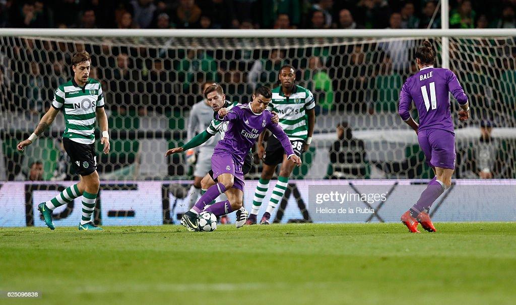 Sporting Clube de Portugal v Real Madrid CF - UEFA Champions League : News Photo