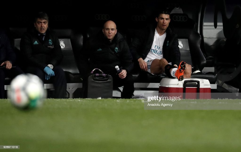 Image result for Ronaldo bench 2018