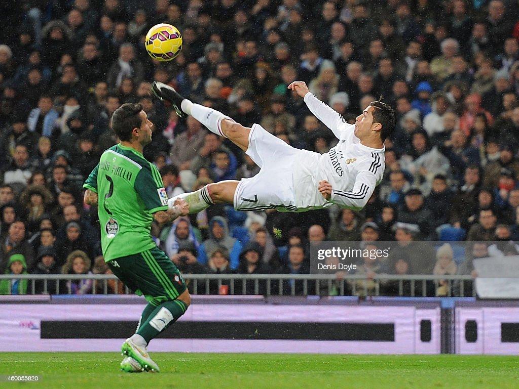 Real Madrid CF v Celta Vigo - La Liga : Nieuwsfoto's