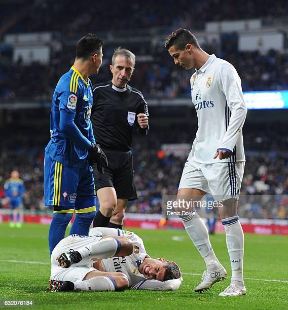 Celta Vigo Vs Barcelona Ronaldo7: Ronaldo Injury Stock Photos And Pictures