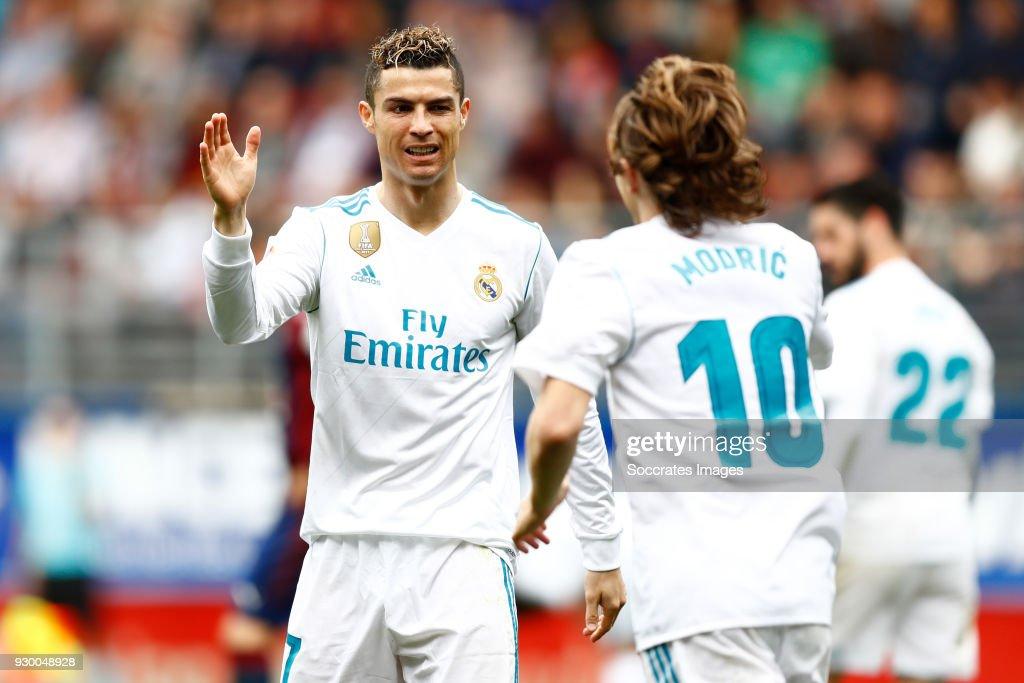 Eibar v Real Madrid - La Liga Santander : News Photo
