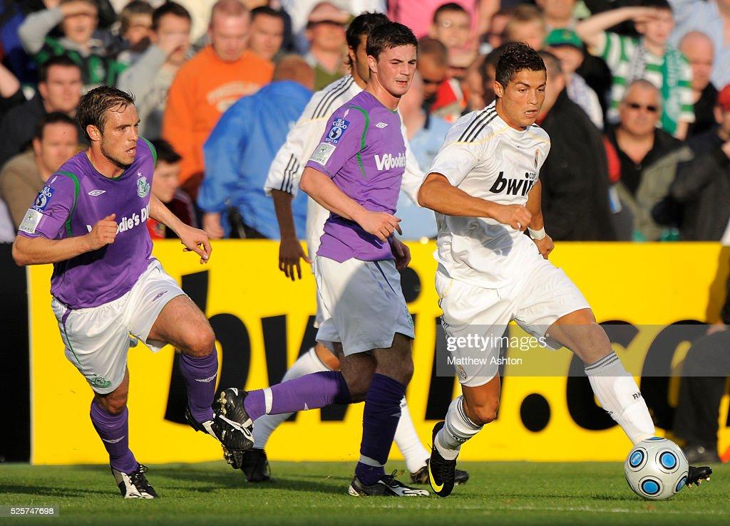 Soccer - Preseason International Friendly - Shamrock Rovers vs. Real Madrid : News Photo
