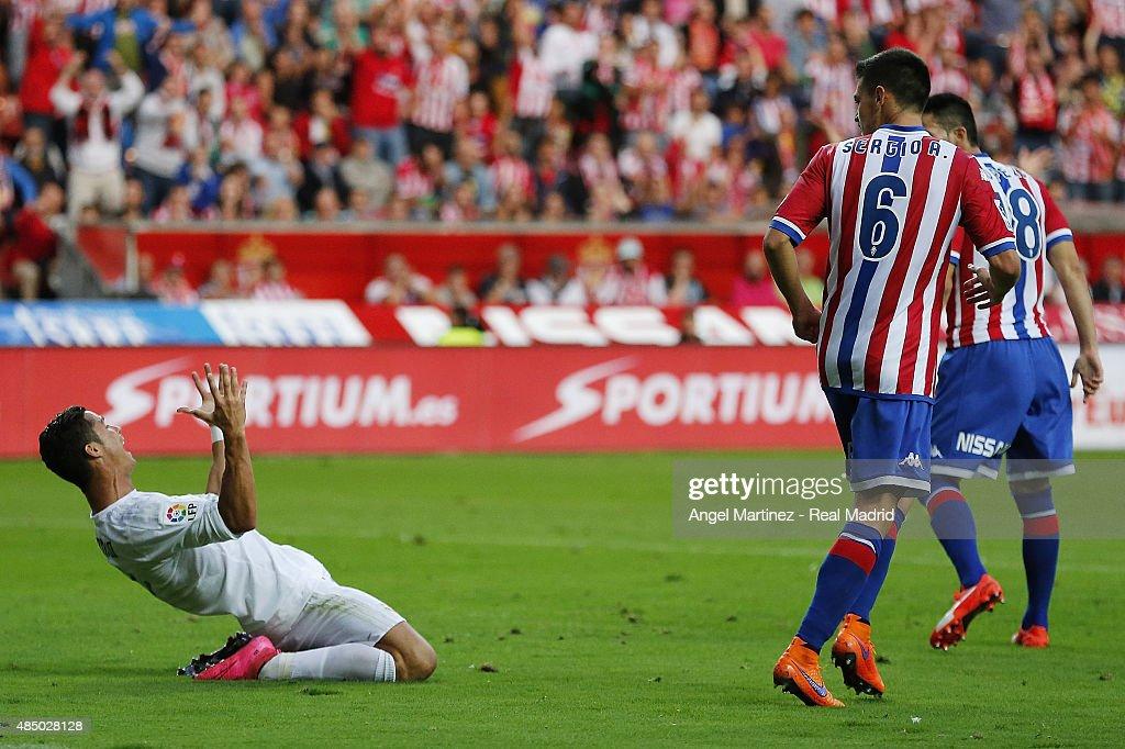 Sporting Gijon v Real Madrid CF - La Liga : News Photo