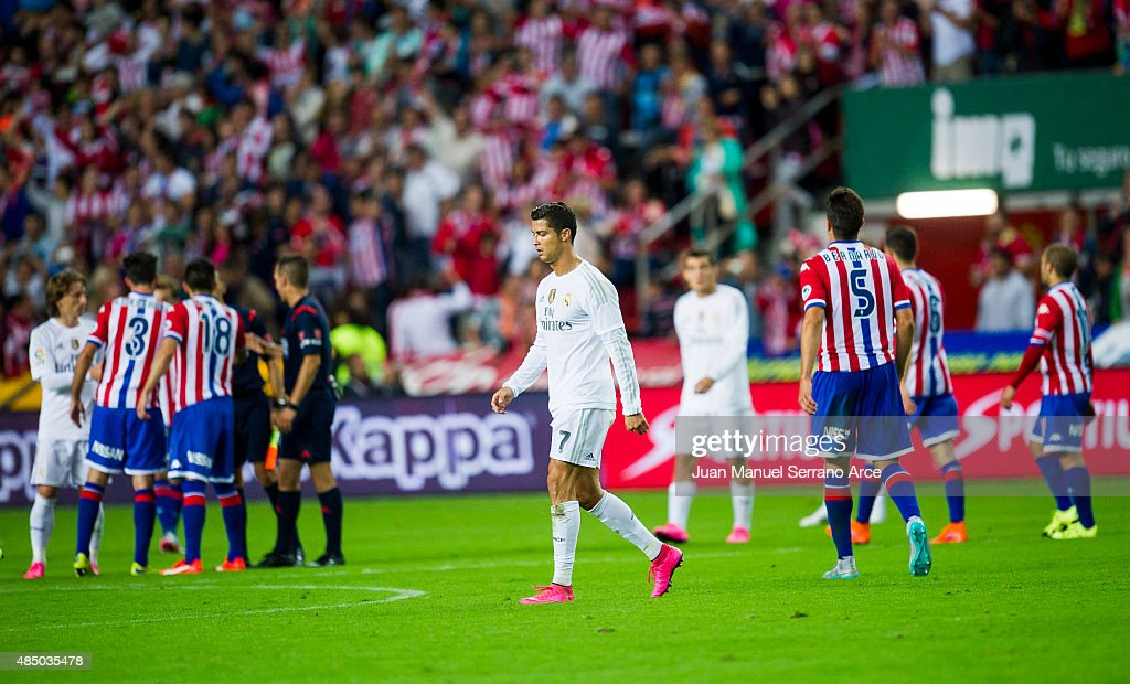 Sporting Gijon v Real Madrid CF - La Liga : News Photo